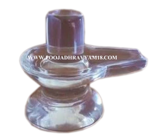 Crystal Shiva Lingam