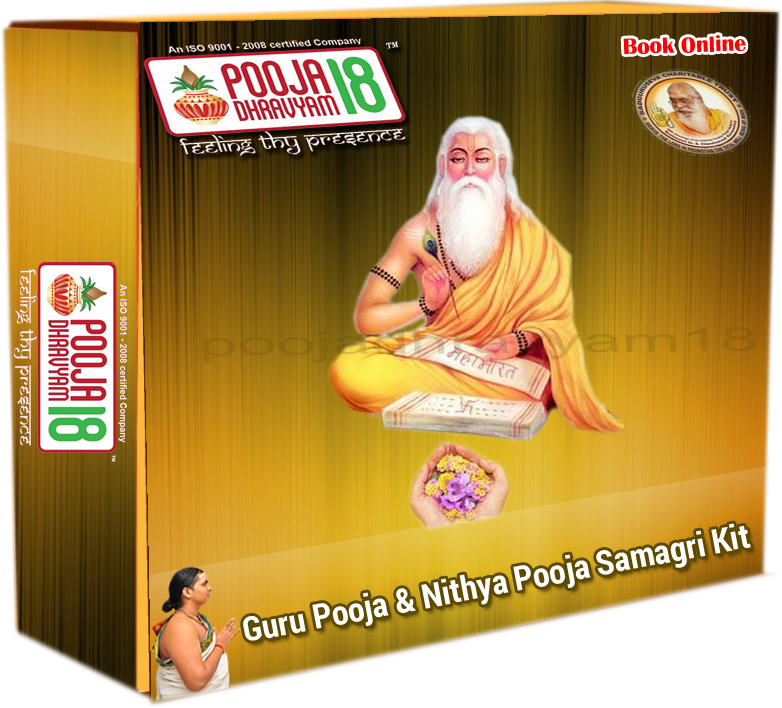 Guru Pooja and Nitya Pooja SAMAGRI Kit