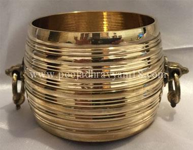 brass Akshaya Patra