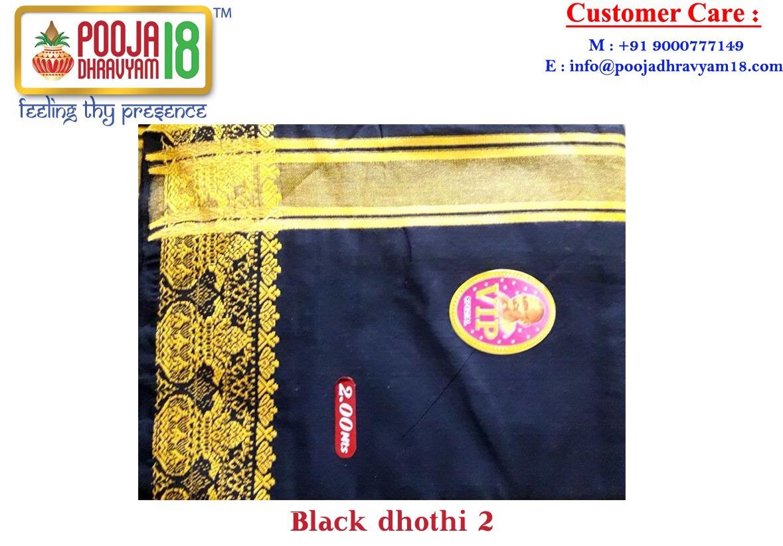 black dhothi